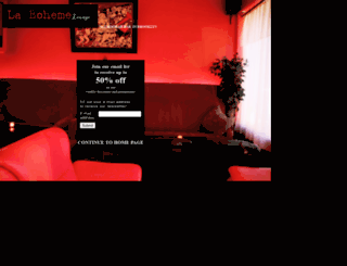 labohemelounge.com screenshot