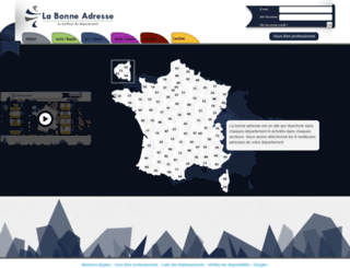 labonne-adresse.fr screenshot