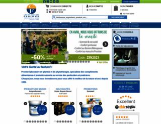 laboratoires-fenioux.com screenshot