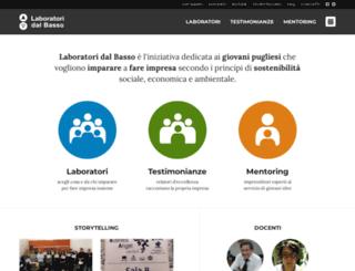 laboratoridalbasso.it screenshot