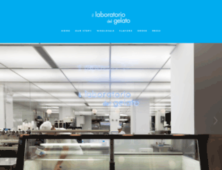 laboratoriodelgelato.com screenshot