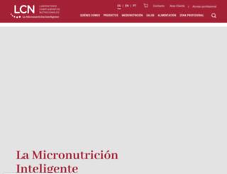 laboratoriolcn.com screenshot
