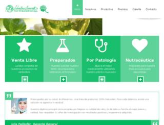 laboratorios-benavente.com screenshot