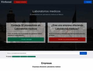 laboratorios-medicos.infored.com.mx screenshot