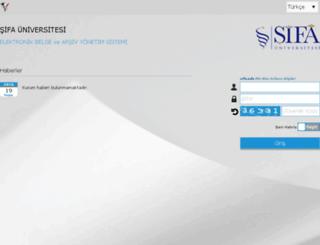laboratuvar.sifa.edu.tr screenshot
