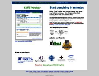labortimetracker.com screenshot