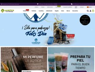 laboticadelosperfumes.com screenshot