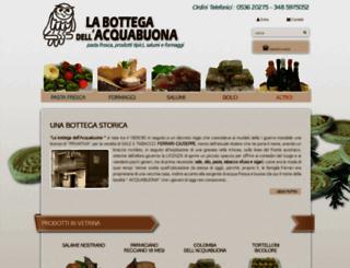 labottegadellacquabuona.it screenshot