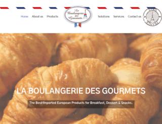 laboulangeriedesgourmets.com screenshot