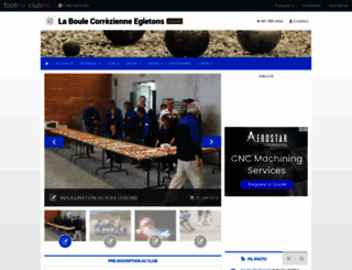 laboulecorrezienne.clubeo.com screenshot