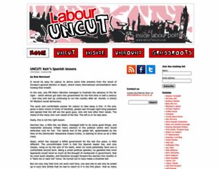 labour-uncut.co.uk screenshot