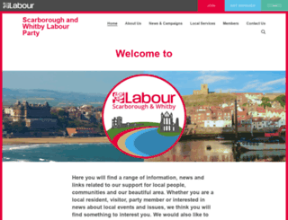 labour4scarboroughandwhitby.net screenshot