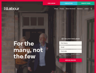 labouronline.org screenshot