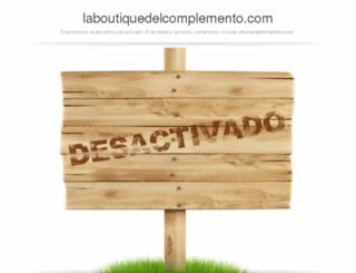 laboutiquedelcomplemento.com screenshot