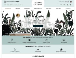 laboutiquedugrandcirque.fr screenshot