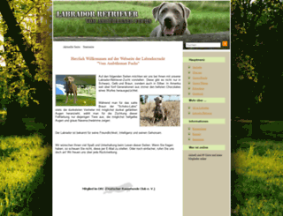 labrador-broering.de screenshot