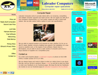 labradorcomputers.co.uk screenshot