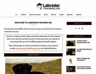 labradortraininghq.com screenshot