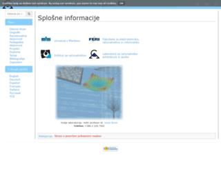 labraj.uni-mb.si screenshot