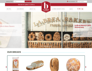 labreabakery.com screenshot