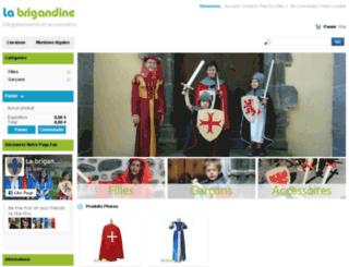 labrigandine.com screenshot