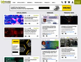 labroots.com screenshot