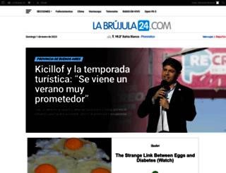 labrujula24.com.ar screenshot