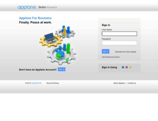 labs.applane.com screenshot