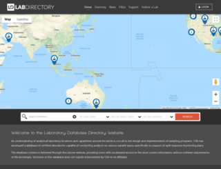 labs.csaocean.com screenshot