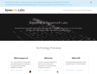 labs.dynamsoft.com screenshot