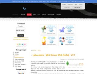labs.xoofoo.org screenshot