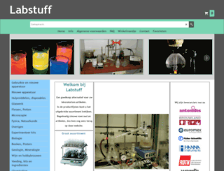 labstuff.nl screenshot