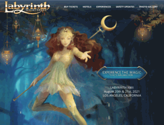labyrinthmasquerade.com screenshot