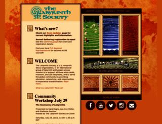 labyrinthsociety.org screenshot