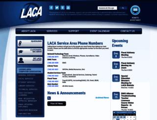 laca.org screenshot
