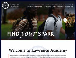 lacademy.edu screenshot