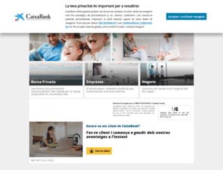 lacaixa.cat screenshot