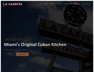 lacarreta.com screenshot