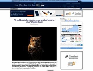 lacartadelabolsa.com screenshot