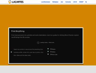 lacartes.com screenshot
