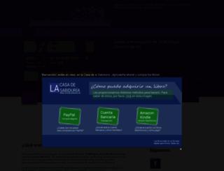 lacasadelasabiduria.com screenshot