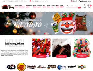 lacasadelasgolosinas.com screenshot