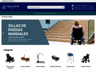 lacasadelenfermo.es screenshot