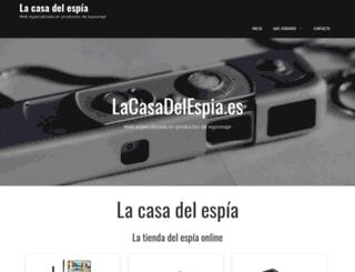 lacasadelespia.es screenshot
