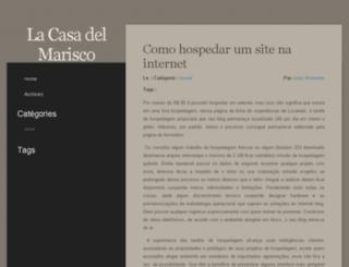 lacasadelmarisco-acha.com screenshot
