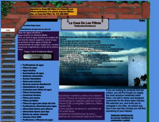 lacasadelosfiltros.net screenshot