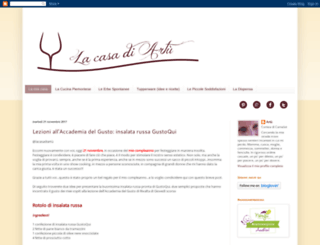 lacasadi-artu.blogspot.it screenshot