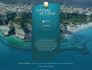lacasadiulisse.com screenshot