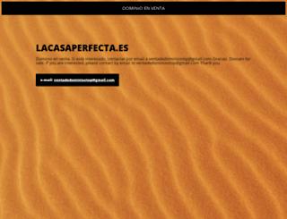 lacasaperfecta.es screenshot