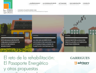 lacasaqueahorra.org screenshot